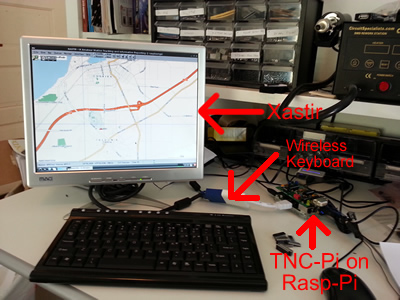 TNC-pi for Raspberry Pi (Packet radio) AX25 (Asembled and tested)